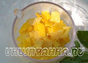 Настойка из мяты и лимона на водке, самогоне, приготовление, шаг 2