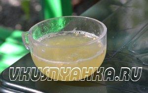 Настойка из мяты и лимона на водке, самогоне, приготовление, шаг 3