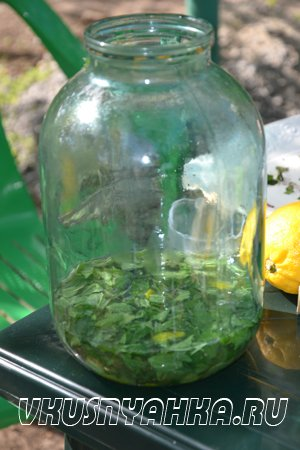 Настойка из мяты и лимона на водке, самогоне, приготовление, шаг 4