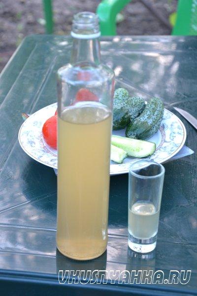 Настойка из мяты и лимона на водке, самогоне, приготовление, шаг 5