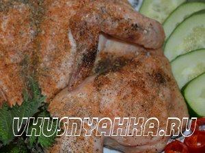 Запеченная курица в духовке (без масла)., приготовление, шаг 5