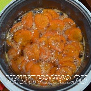 Варенье из абрикосов в мультиварке, приготовление, шаг 3