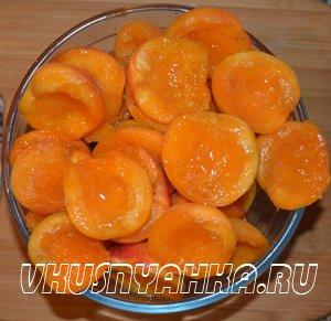 Варенье из абрикосов в мультиварке, приготовление, шаг 1