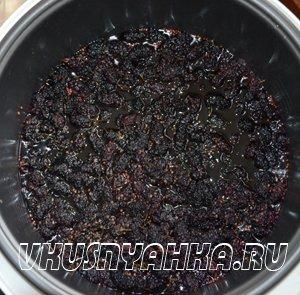 Варенье из шелковицы (тютины) в мультиварке, приготовление, шаг 3