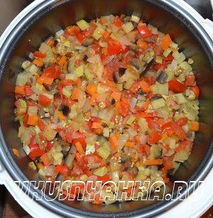 Овощное рагу  в мультиварке, приготовление, шаг 3
