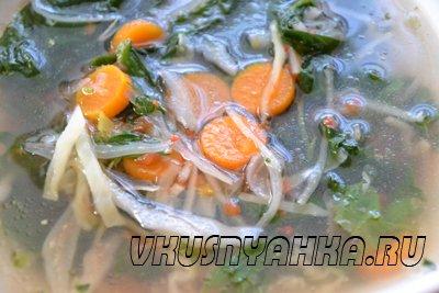 Овощной суп с капустой и шпинатом в мультиварке, приготовление, шаг 4