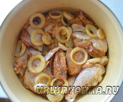 Шашлык из курицы в минералке, приготовление, шаг 4