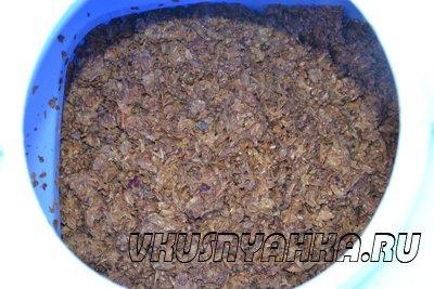Самогон из виноградного жмыха, приготовление, шаг 1