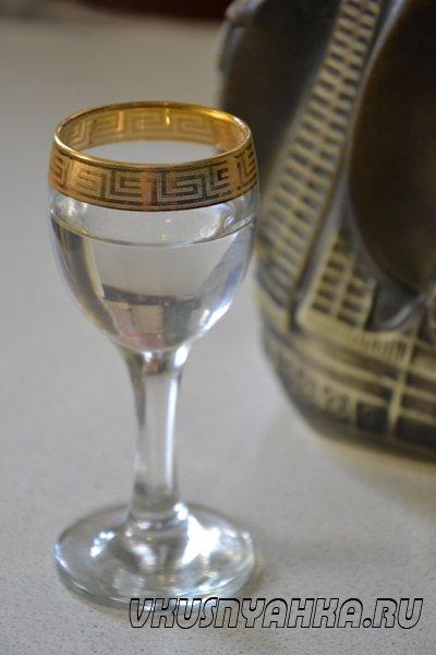Самогон из виноградного жмыха, приготовление, шаг 7