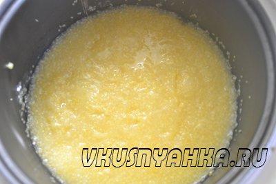 Кукурузная каша в мультиварке, приготовление, шаг 3