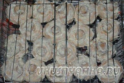 Шампиньоны в майонезе запеченные на углях, приготовление, шаг 3