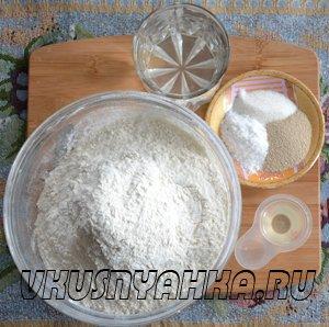 Тесто для хлеба в хлебопечке, приготовление, шаг 1