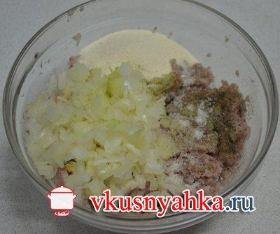 Запеканка из картофеля с рыбным фаршем в мультиварке, приготовление, шаг 1