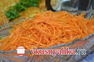 Морковь по-корейски, приготовление, шаг 7