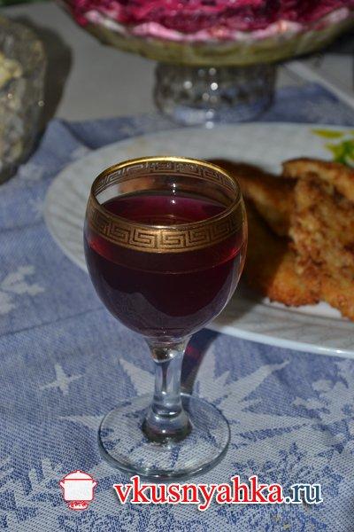 Рецепт домашнего вина из винограда, приготовление, шаг 9