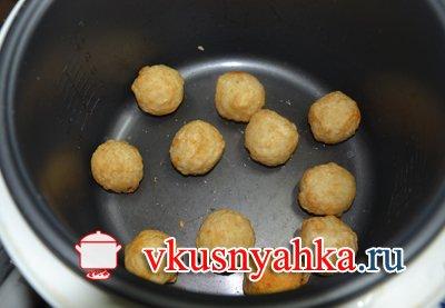 КругГетсы с сырным соусом в мультиварке, приготовление, шаг 2