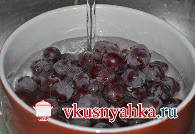 Настойка из винограда, приготовление, шаг 3