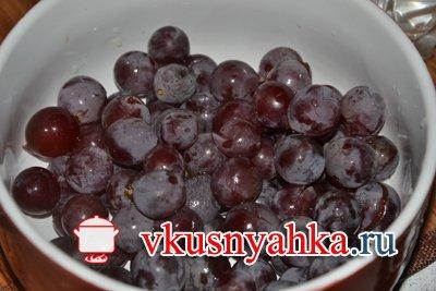 Настойка из винограда, приготовление, шаг 2