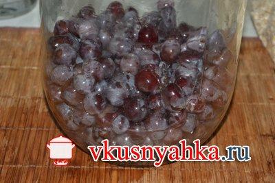 Настойка из винограда, приготовление, шаг 4