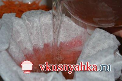 Настойка из винограда, приготовление, шаг 8