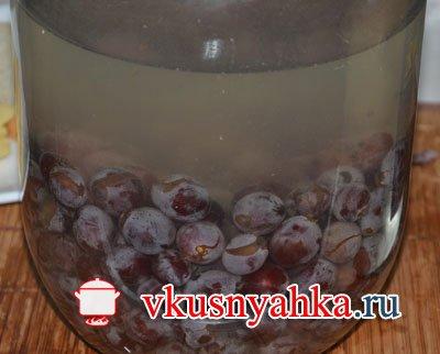 Настойка из винограда, приготовление, шаг 5