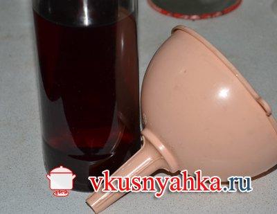 Домашний винный уксус из виноградного вина, приготовление, шаг 6